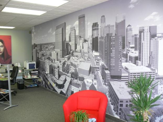 office wall murals. Office Wall Murals L